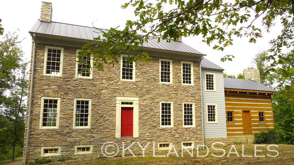 Historic Style Stone Homes And Land For Sale Kentucky Farm