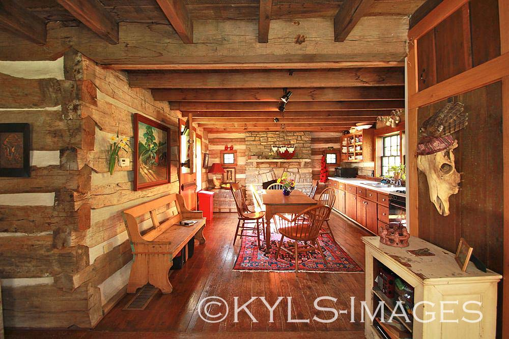 Artist retreat log cabin kentucky land for sale country for Log cabin retreat